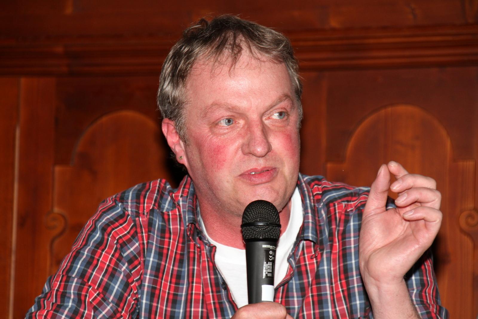 Erwin Schöpges ließ in seinen Ausführungen kein gutes Haar an den gegenwärtigen Verhältnissen in der Land- und Milchwirtschaft.